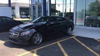 2018 Mercedes-Benz E400 Coupe - First Look