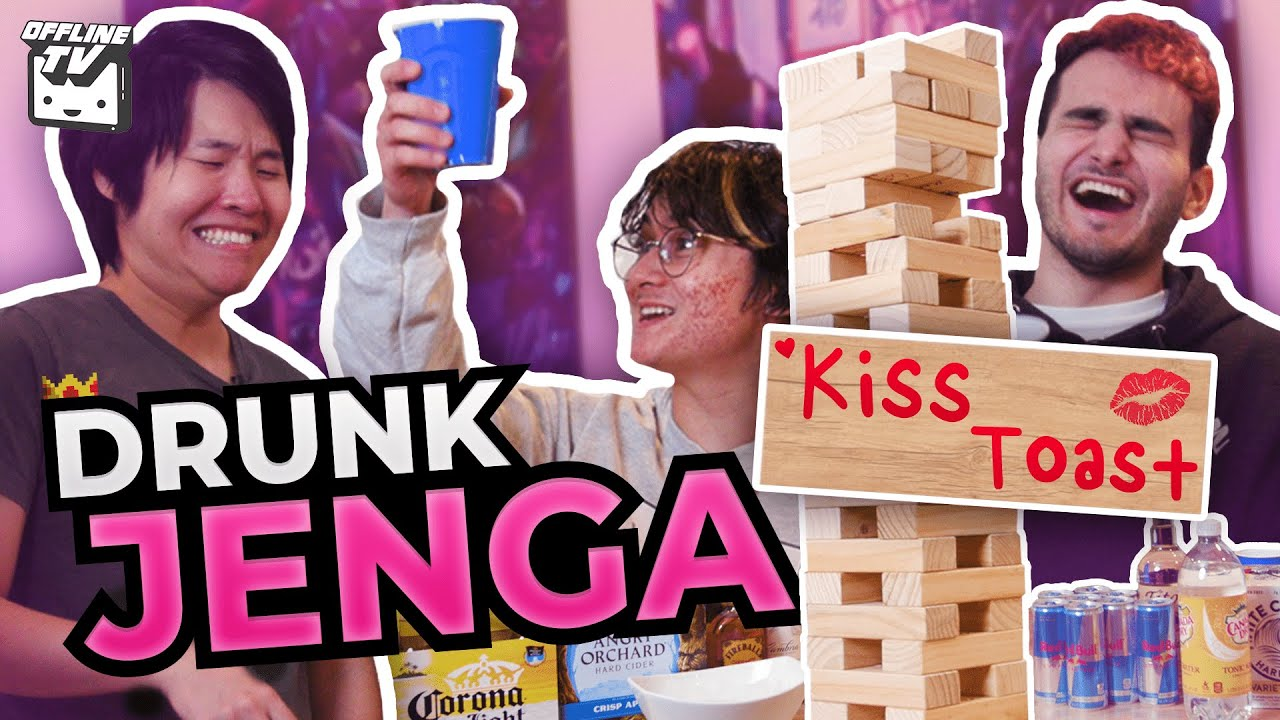 OFFLINETV PLAYS DRUNK JENGA ft. Michael Reeves DisguisedToast LilyPichu Scarra Fedmyster