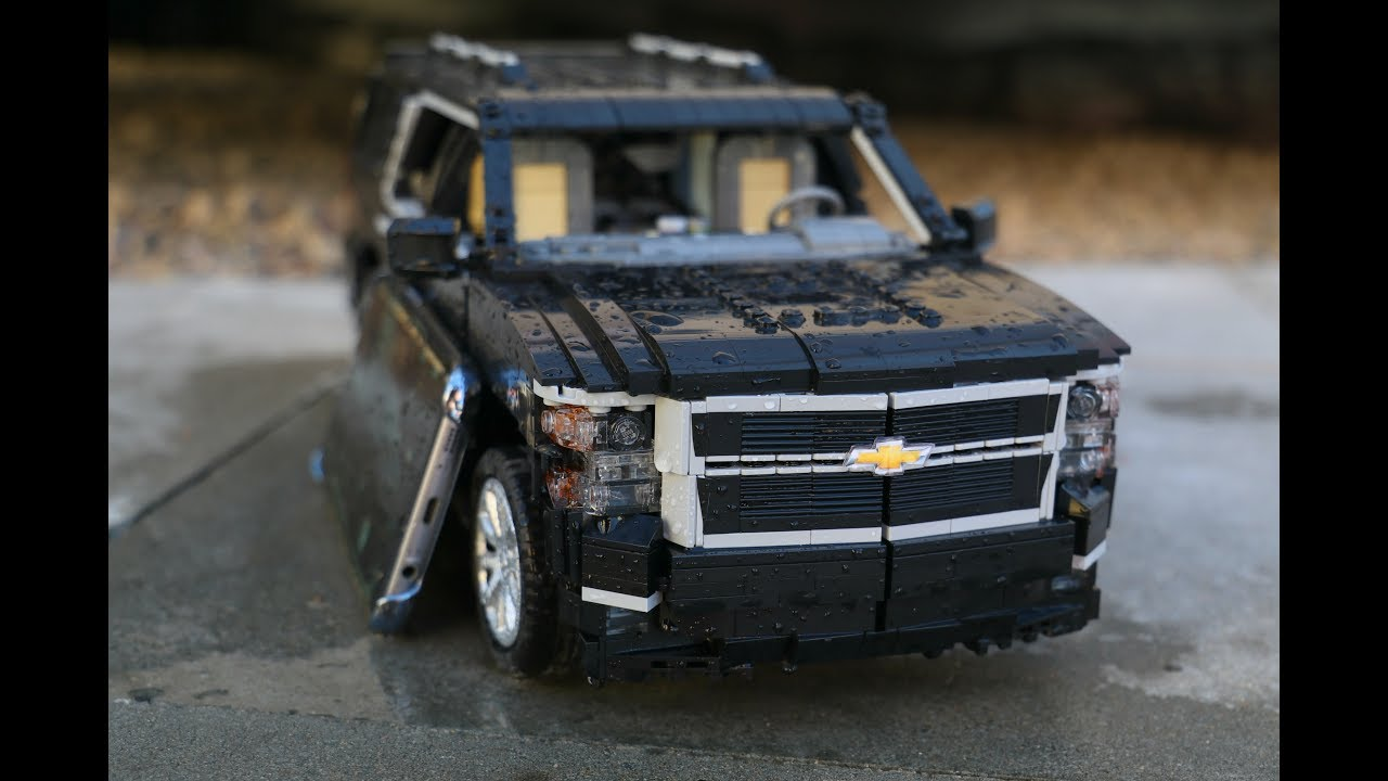 Lego Technic RC Chevrolet Suburban - YouTube