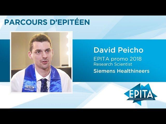 Parcours d'Epitéen - David Peicho (promo 2018) - Siemens Healthineers