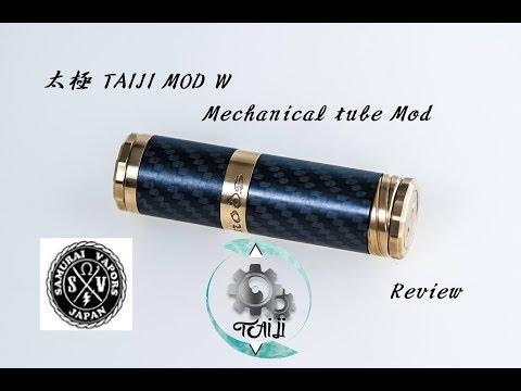 New comerならぬNew came MOD!!【VAPE】太極 TAIJI MOD W Mechanical tube Mod【レビュー】