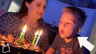Birthday Party Fail Caught on Camera! (FINN IS FOUR!!)