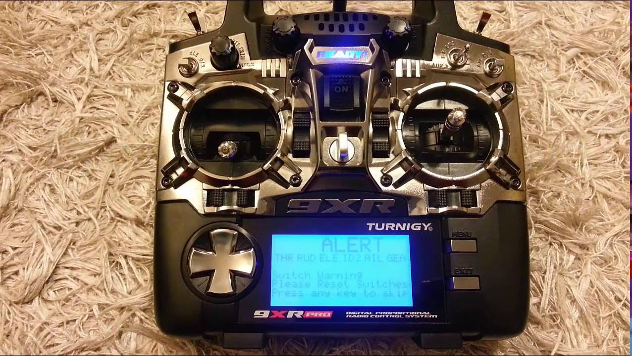 turnigy 9xr pro not loading firmware