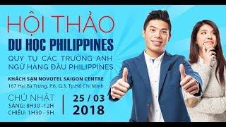 Hội Thảo Du Học Philippines 2018 Xu Hướng Học Tiếng Anh Hiệu Quả