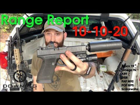 Range Report, 10-10-20