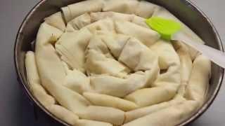 Сербская национальная кухня.Пита с яблоками (вкусная)