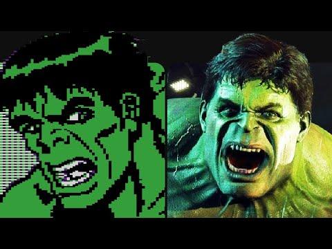 Evolution Of Hulk In Games 1984-2019