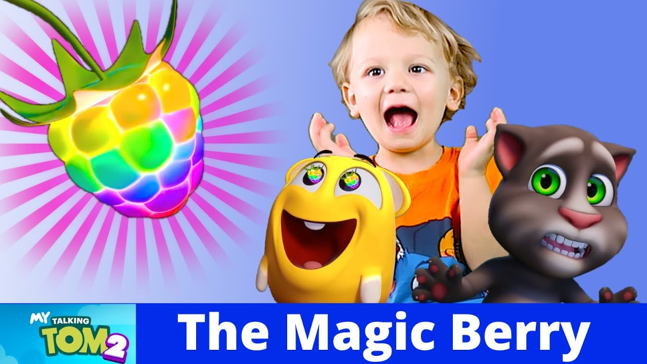 The Magic Berry  - Talking Tom Shorts with Alex and Kirill