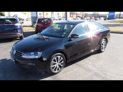 2017 Volkswagen Jetta 1.4T SE Walkaround, Start up, Tour and Overview