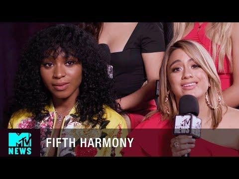 Fifth Harmony Talk Pitbull and the Latin Music Awards | MTV News