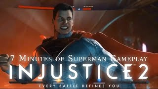 Injustice 2 - All Superman Gameplay