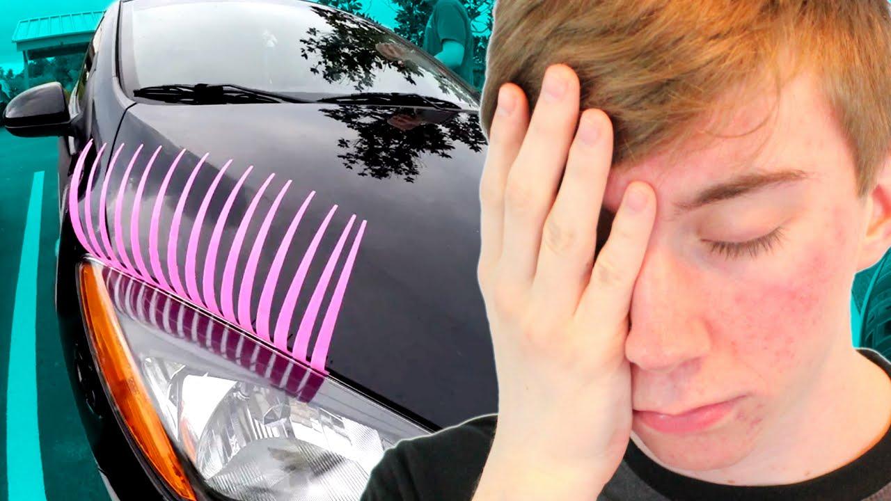 Car Eyelashes Youtube