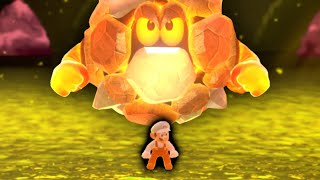 Super Mario 3D World, but you can walk on the Lava...