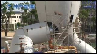 アニメ版の設定と同じ全長18メートルの「鉄人28号」が、大阪府岸和田市の金属加工 会社「北海製作所」で制作中。建造費は1億3500万...