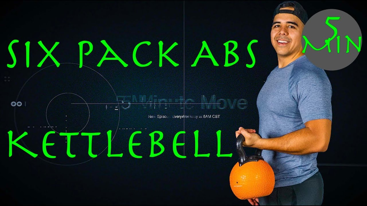 Abs/Core  - Kettlebell - 5 Minute Move -Thursday