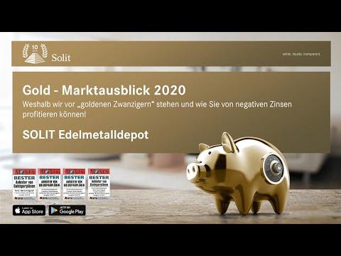 Gold – Marktausblick 2020 | Allzeithoch in €uro! Wie geht es weiter?