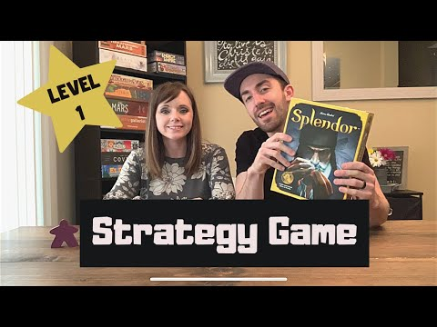 Strategy Level 1 Game - SPLENDOR |