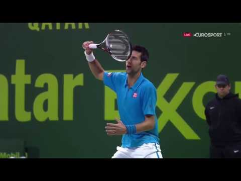 Novak Djokovic vs Andy Murray - Doha 2017 EXTENDED Highlights/Interview [HD]