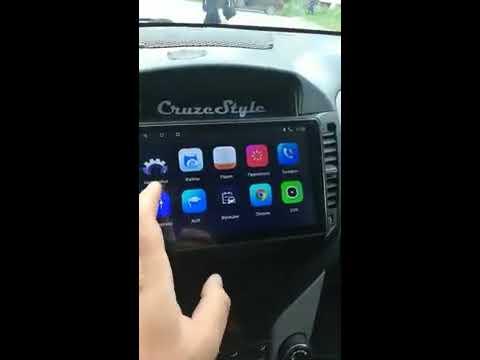 Магнитола на Андроид 8.1 для Шевроле Круз 2009-2015