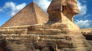 Загадка Великого сфинкса.  Мифы и легенды древнего Египта.Великий Сфинкс пирамиды, древний Египет.
