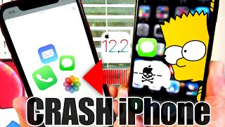 This   ----   Crashes Any Iphone In Ios 12