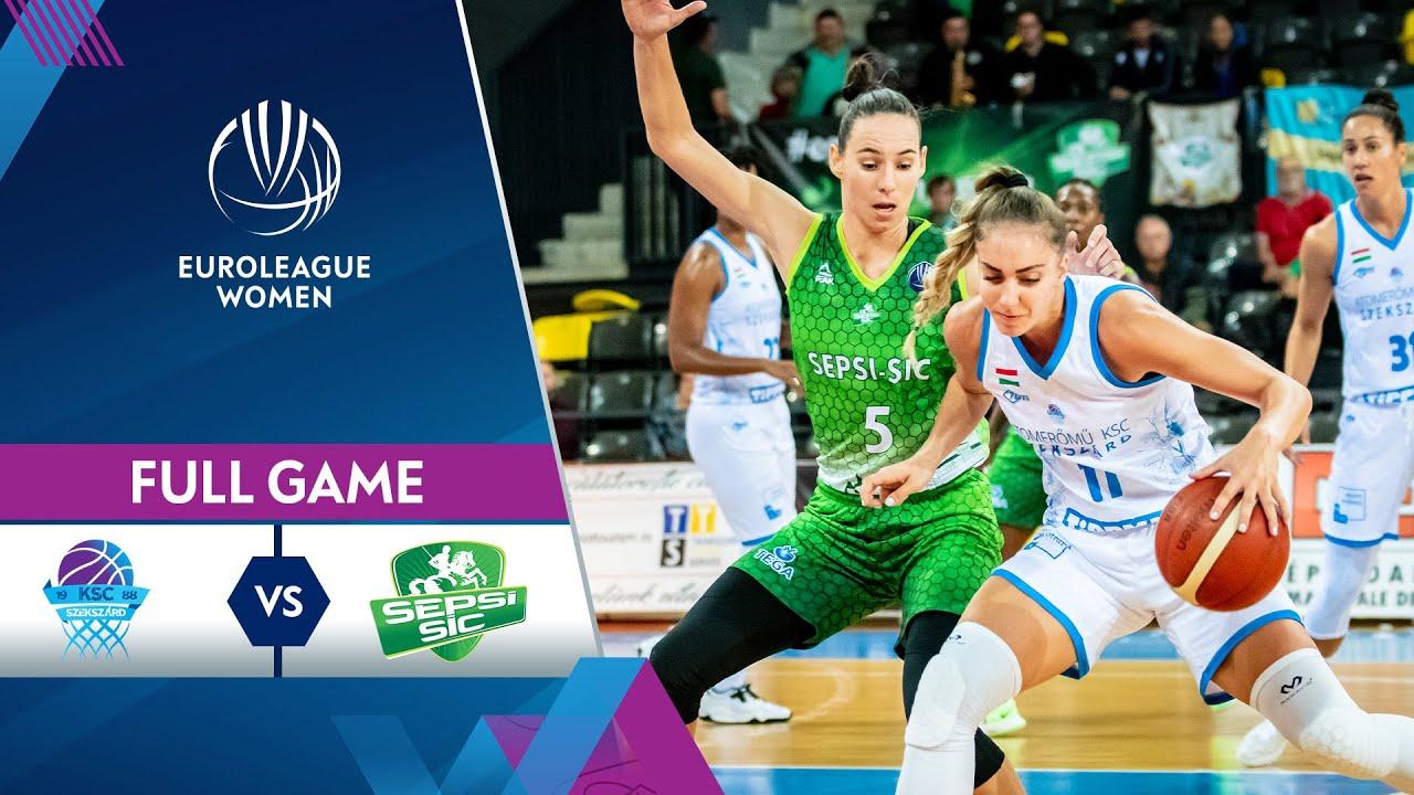 KSC Szekszard v ACS Sepsi-SIC | Full Game - EuroLeague Women 2021