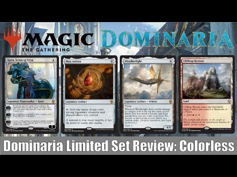 MTG Dominaria Limited Set Review: Colorless