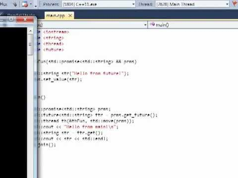 C++11 Concurrency, Part 4