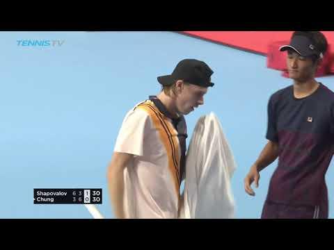 Hot Shot: Power Tennis From Shapovalov In Tokyo