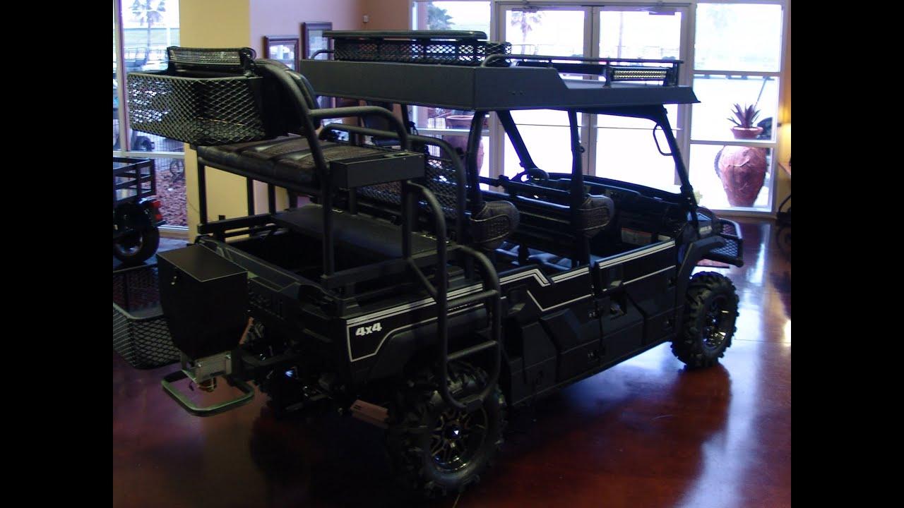 UVC Custom Kawasaki MULE PRO FXT Wet Sounds Sound Bar