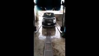 Complete car wash process : Automatic car wash in Bangladesh