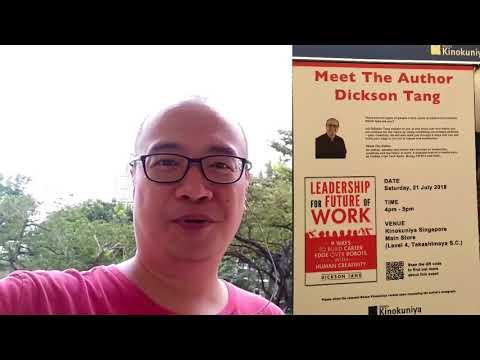 Meet-the-author @ Kinokuniya Singapore