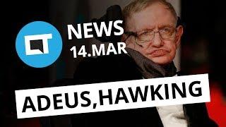 Jornal da Netflix; PS4 vs Xbox One; Stephen Hawking morre aos 76 anos [CT News]