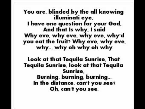 Tequila Sunrise Lyrics