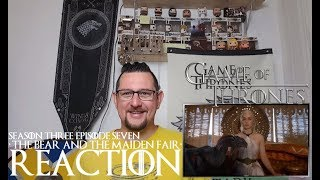 Game of Thrones 3x7 'The Bear and the Maiden Fair' REACTION CATCHING UP