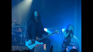 Arch Enemy - Trivium Concert Review + setlists Nov 23 2017 Vancouver - The Vogue