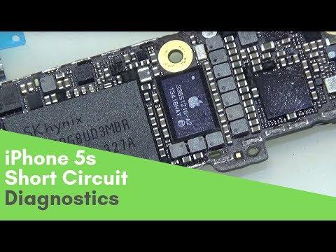 IPhone 5s не включается, потребление 700мА. Ремонт