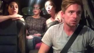 LA girls in an Uber