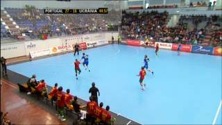 Handball. Portugal-Ukraine. 3-05-2015