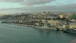 Gran Canaria AIDA Cara liegt im Hafen von Las Palmas Kanarische Inseln