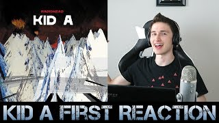 FIRST REACTION to Radiohead - Kid A (Part 1)