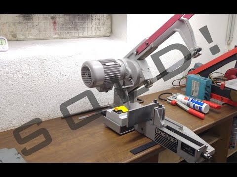 Behringer KS-150 Bügelsäge - Электромеханическая ножовка - Power Hacksaw