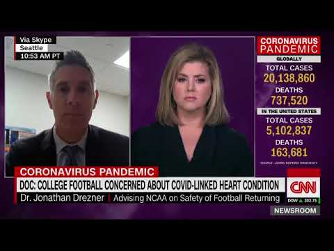 Myocarditis: Doctor says one-third of Big Ten athletes who ...