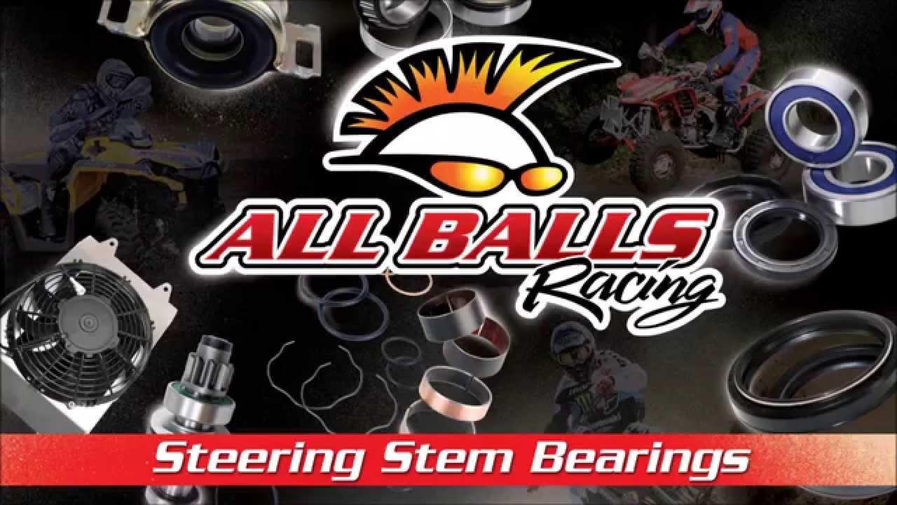 All Balls Racing Steering Stem Bearing Installation Youtube 2006 Ex500 Wiring Diagram