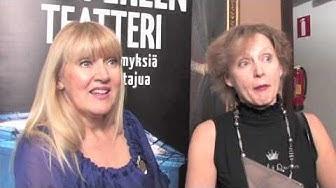 Jaana Saarinen ja Inkeri Mertanen