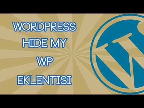 Hide My WP Eklentisi Kurulum ve İnceleme | WordPress Eklenti #1