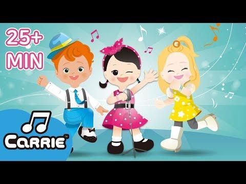 Lagu Anak Terpopuler | Lagu Anak | CarrieAndSong And More Kids Dance Song | Kids Song