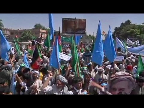 Thousands protest over vote fraud allegations in Afghanistan