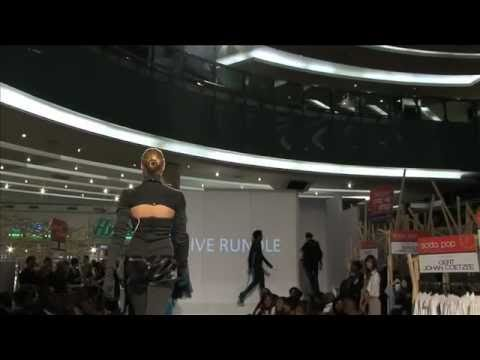 South African Fashion Designers Clive Rundle 2011 Winter Collection Sandton City Johannesburg Youtube