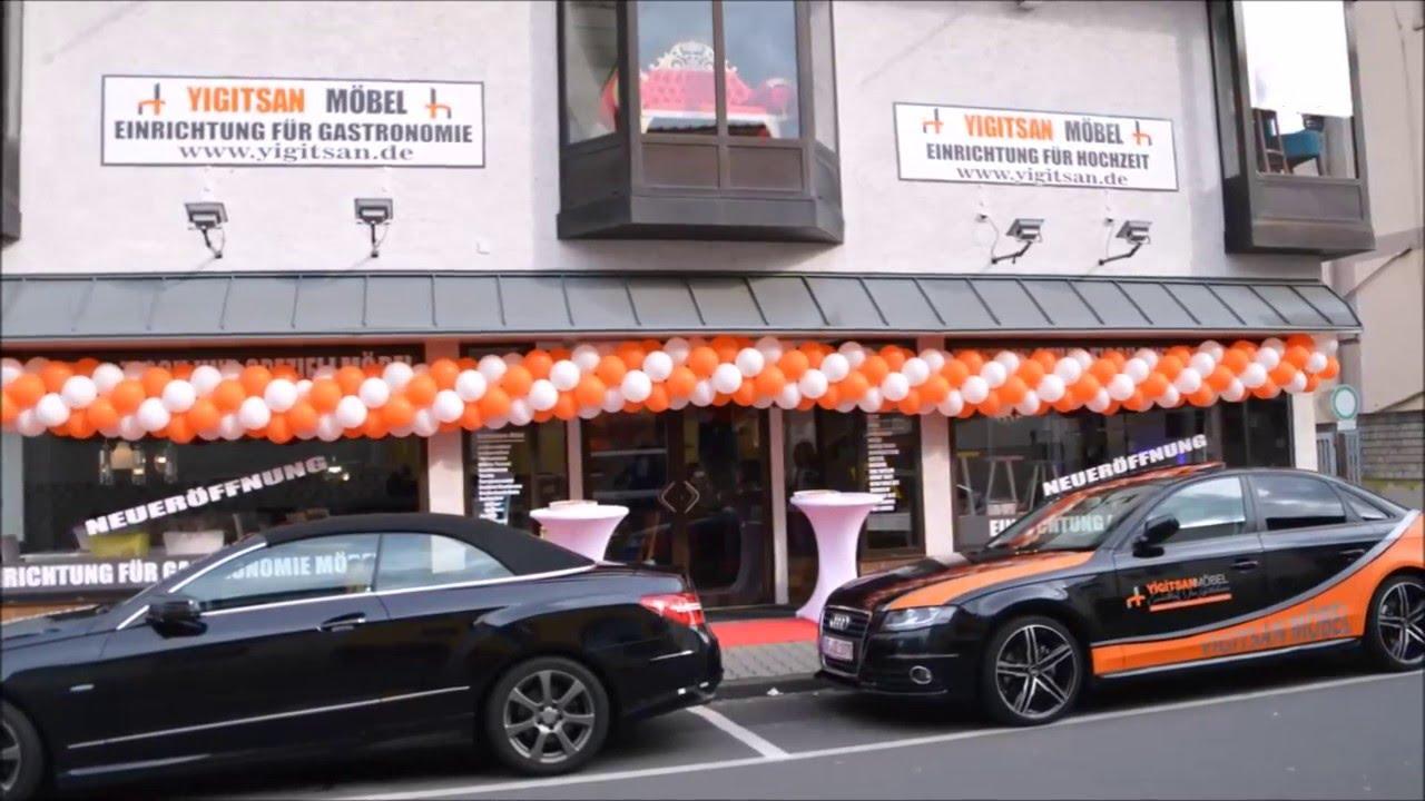 Yigitsan Gastro Möbel, Dieburger Strasse 46, 63322 Rödermark - YouTube